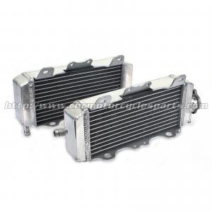 China Heat Resistance Custom Motorcycle Radiator / Dirt Bike Aluminum Radiator Engine Cooling System on sale