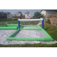 Buy cheap Durable 0.9mm PVC Tarpaulin Inflatable Water Volleyball Court For Water Sport Games from wholesalers