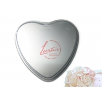 Buy cheap High Quality Aluminium Alloy Non-Stick Heart Shape Mould Baking Chiffon Cake Mousse Mold With Anodizing from wholesalers