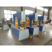 Buy cheap Automatic Hydraulic Ironworker Machine For Forming / Framing , 160 Ton from wholesalers