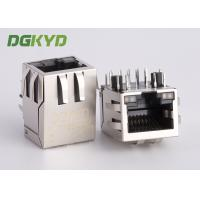 Buy cheap 10 Pin Receiver Filter RJ45 jack with internal isolation transformer 1000 BASE from wholesalers