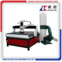 Buy cheap DSP 3KW Advertising CNC Router Machine with dust collector ZK-1212-3.2KW 1200*1200mm product