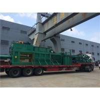 Buy cheap Semi - Automatic Waste Plastic Baler Machine With Manual Strapping from wholesalers