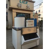 Sus304 Material Freshwater Flake Ice Machine With 3ton Capacity