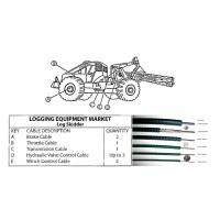 Buy cheap Industrial Mechanical Control Cable For Logging Equipment Market Simple To Install from wholesalers