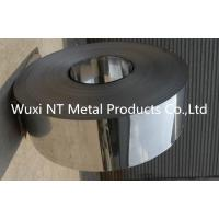 Buy cheap 304/430 BA Finish PVC Coated Stainless Steel Strips with Slit Edge , 3mm-600mm Width from wholesalers