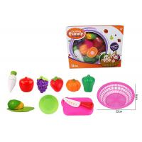 Buy cheap 12 Pcs Pretend Role Play Children's Play Toys for Kitchen Fruit Vegetable Cutting from wholesalers