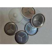 Buy cheap Metal Insulation Clips With Plastic Coat Caps , Tile Backer Board Fixing Washers from wholesalers