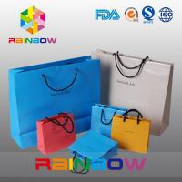 Buy cheap Biodegradable Printed Customized Paper Bags Shopping Gift Paper Bag With Logo Print from wholesalers