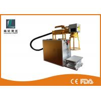 Buy cheap Small Size Handheld Rotary Marking Machine For Rings With Air Cooling System from wholesalers