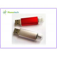 Buy cheap OTG USB 2.0 Mobile Phone USB Flash Drive Flash Memory Bar with Logo Printed from wholesalers