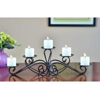 Buy cheap table decoration home decoration candelabra metal candle holder from wholesalers