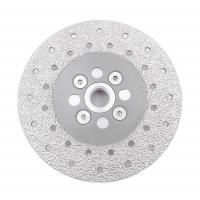 Buy cheap Double Sided Vacuum Brazed Diamond Cutting & Grinding Disc 5/8-11 Flange Diamond grinding wheel from wholesalers