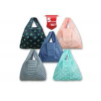 Buy cheap 100% 210D Nylon Foldable Tote Bags Recycled With Five Different Styles from wholesalers