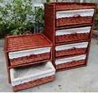 Buy cheap Willow or Wicker Stock Basket BS-107 from wholesalers