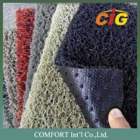 Buy cheap 120cm width 15mm thickness PVC Floor Covering / 100% PVC carpet with nail backing from Wholesalers