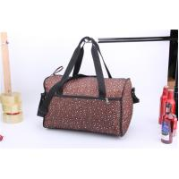 Buy cheap Series 614S1604  leopard print duffel bag with shoulder strap product