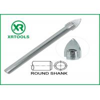 Buy cheap Single Carbide Drill Bits Chrome Plated Round Shank With ISO 9000 Approval from wholesalers