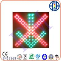 Buy cheap 680×680mm Cluster Double-face Red Cross & Green Arrow Traffic Signal Lights from wholesalers