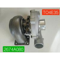 Buy cheap TO4E35 Turbo Excavator Machine Parts Perkins Turbocharger 2674A080 452077-5004S from wholesalers