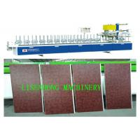 Buy cheap Durable Automatic Feeding PVC Wrapping Machine For Slidding Door Low Noise from wholesalers