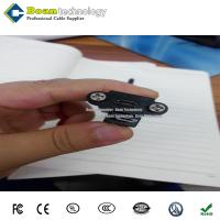 Buy cheap USB Micro B Panel Mount Extension Cable Male to Female from wholesalers