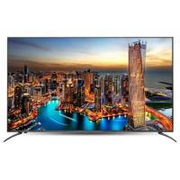 Buy cheap 50 UHD 4K Color LCD LED TV Wall Mount Flat Screen 1920*1080 Resolution 110W from wholesalers