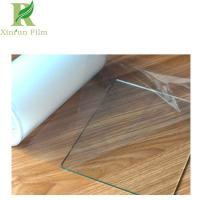 China 0.025-0.2mm Clear Transparent Quality Assurance Eco-friendly Mirror Self Adhesive Film on sale