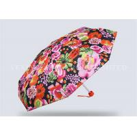Buy cheap Creative Totes Micro Mini Umbrella , Small Purse Size Umbrella Flower Number Printing from wholesalers