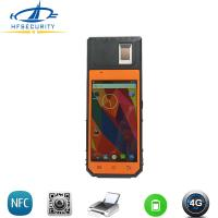Buy cheap HF-FP09 Built-in Printer 4G GPRS Sim Card Verification Android Mobile Fingerprint WSQ Smart National Card Reader from wholesalers