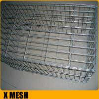 Buy cheap Heavily galvanized steel wire gabion baskets for environmental engineering projects from wholesalers