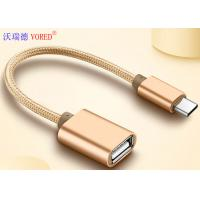 Buy cheap USB To Type C Micro USB Data Transfer Cable , OTG Mobile Phone USB Cable from wholesalers