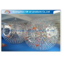 Buy cheap Big Transparent Inflatable Bubble Ball /  Hamster Ball Popular Adults Soccer Sports product