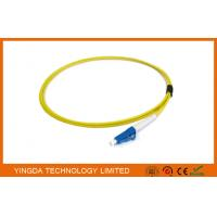Buy cheap Single Mode Optical Fiber Pigtails LC PC Simplex 2.4 mm Diameter 3 Meter from wholesalers