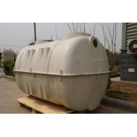 Buy cheap SMC Moulded Septic Tank 1.5M3 FRP smc septic tank for sewage treatment from wholesalers