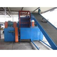 Buy cheap Alloy Steel Tire Rubber Shredding Machine With 20 Pcs Baldes from wholesalers