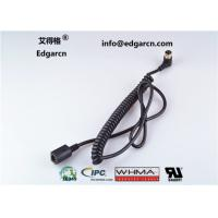 Buy cheap Length 1000mm Coiled Cable Cord , Injection Molding Car Wiring Harness from wholesalers