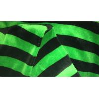 Buy cheap Reactive Dyed Double Knit Fabric For Suit Or Shirt / Green And Black Striped Fabric from wholesalers