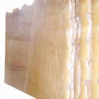Buy cheap Honey Onyx Marble Tiles, Available in Various Colors and Patterns from wholesalers