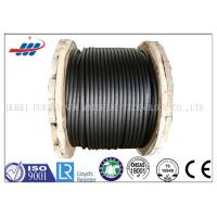 Buy cheap 6-48mm Ungalvanized Steel Rope Cable ZS / SZ Lay For Building , CE ISO Approved from wholesalers