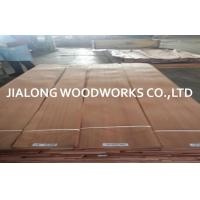 Buy cheap Sliced Cut Natural Quarter Cut Veneer Sapele / Sapelli Wood Veneer Sheet from wholesalers