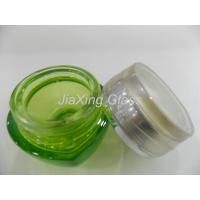 Buy cheap 50g Round Cosmetic Glass Cream Jar For Face Cream With Wide Mouth from wholesalers
