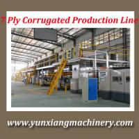 Buy cheap 3/5/7 Layer Corrugated Cardboard Production Line from wholesalers