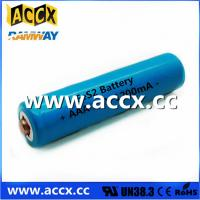 Buy cheap Shaver Battery LiFeS2 AA lithium battery 1.5V 1100mAh from wholesalers