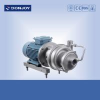 Buy cheap CIP+ - 40 304 self priming centrifugal pumps for  oil and wine processing from wholesalers