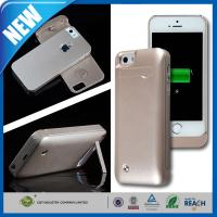 Buy cheap 2200mAh Iphone 5 / 5s Cell Phone Battery Extender Case , Smartphone Battery Case from wholesalers