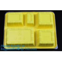 Buy cheap Personalized plastic food box sushi packaging tray,Food Use and Tray Type disposable plastic sushi tray,fast food tray,p from wholesalers