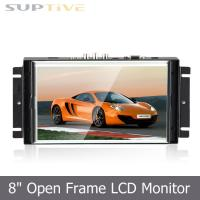 Buy cheap Flexible Touch Screen Open Frame LCD Display No Frame Lcd Monitor LED Backlight from wholesalers
