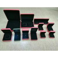 Buy cheap Luxury Gift Jewelry Plastic Box Exterior Leather Customized Size For Shopping Mall from wholesalers
