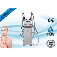 Buy cheap Professional Vertical Cryolipolysis Cavitation RF Slimming Machine 5MHz from wholesalers